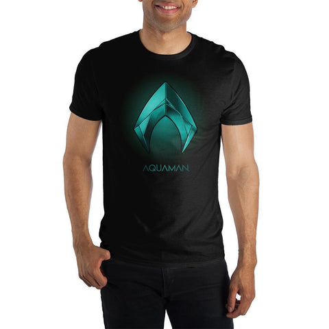 Aquaman Symbol T Shirt DC Comics