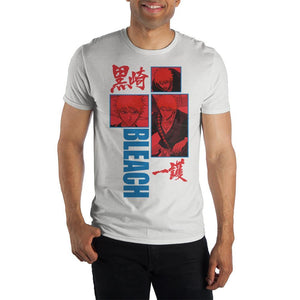 Bleach Graphic Artwork Short Sleeve T shirt