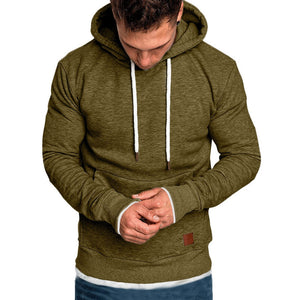 Long Sleeve Hooded Sweatshirt W/ Pockets