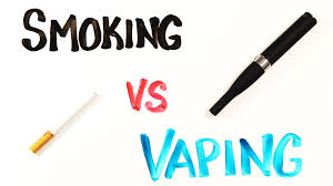 WHAT'S THE DIFFERENCE BETWEEN SMOKE AND VAPOR?