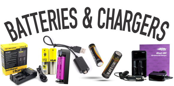 Vape Domain Batteries and Chargers