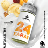 One oz Vapour 18 Karat ejuice e-liquid Vape juice