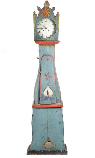 The carvings and paint colours of Swedish Mora Clocks