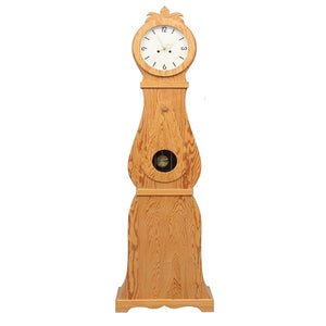 19th Century wooden Swedish Mora Clock