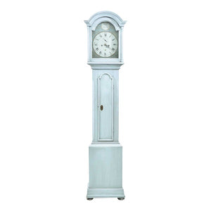 Swedish Mora clock in original light blue
