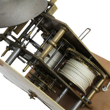 18th Century cream Mora Clock - mechanism