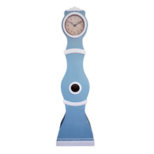reproduction mora clock in sky blue