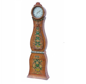 Antique Swedish Mora clock dated 1868.
