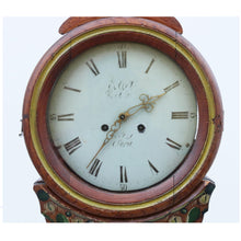 Antique Swedish Mora clock dated 1868 - face