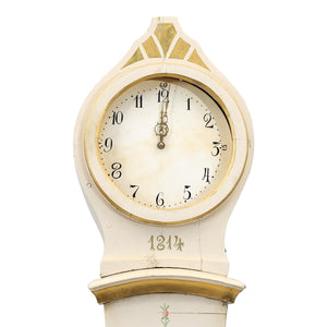 1814 Swedish Mora Clock - face