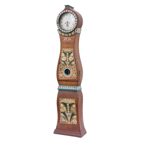 Antique Mora Clock - brown