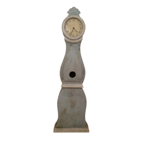 Blue Reproduction Mora Clock