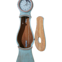 Mora clock body in blue original paint