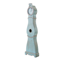 Mora clock in original paint - side view
