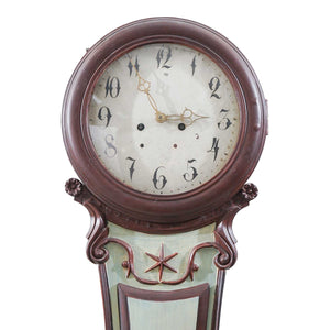 Mora clock face with classic detail