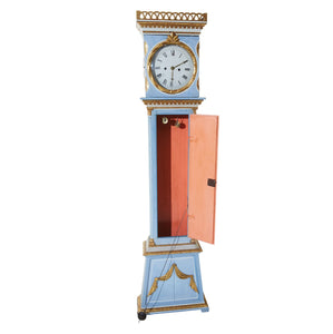 Mora clock with door detail