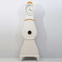 Swedish Mora Clock with original gold and white paint