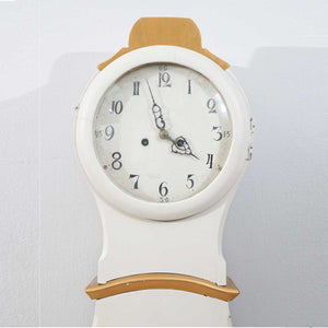 Mora clock orginal face with numeral detail