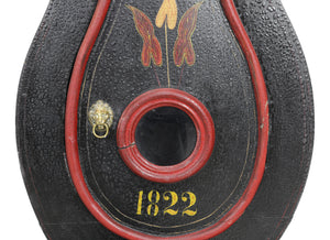 paint detail 1822 mora clock