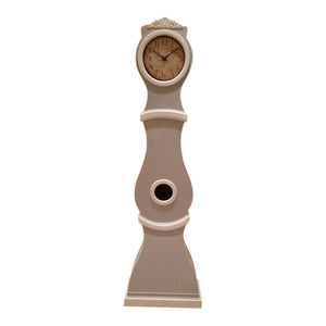 Reproduction Mora Clock - hand painted grey