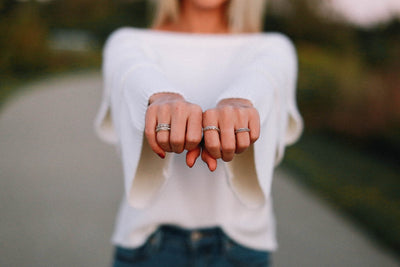 Dress up any outfit with MeditationRings
