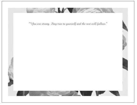 MeditationRings Inspirational Greeting Card - MeditationRings