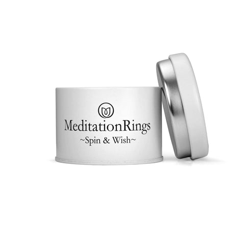 Lunar - 14KT Yellow Gold - MeditationRings