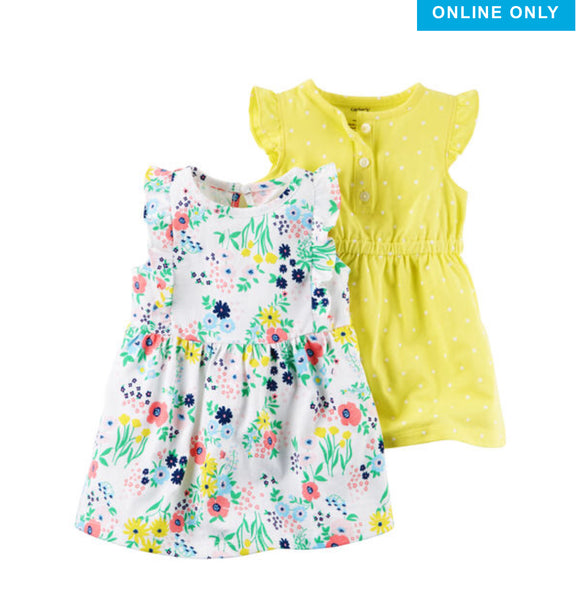 Baby Girl Tagged Dress Mom Loves You