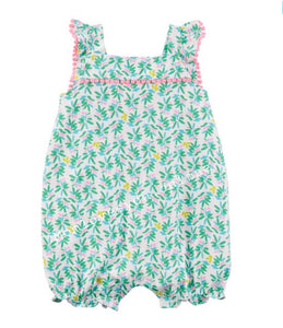 8a7a2caf6 Carter's - tropical Baby girl romper – Mom loves you
