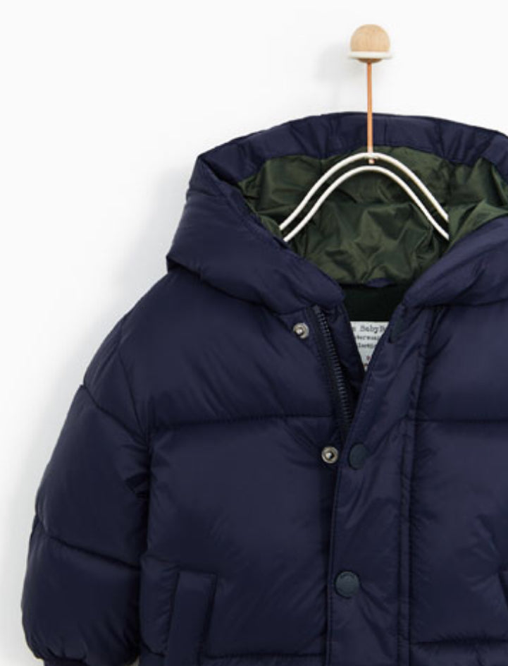 9128ffc2030a Zara from USA - Basic Quitted Jacket baby boy  baby girl – Mom loves you