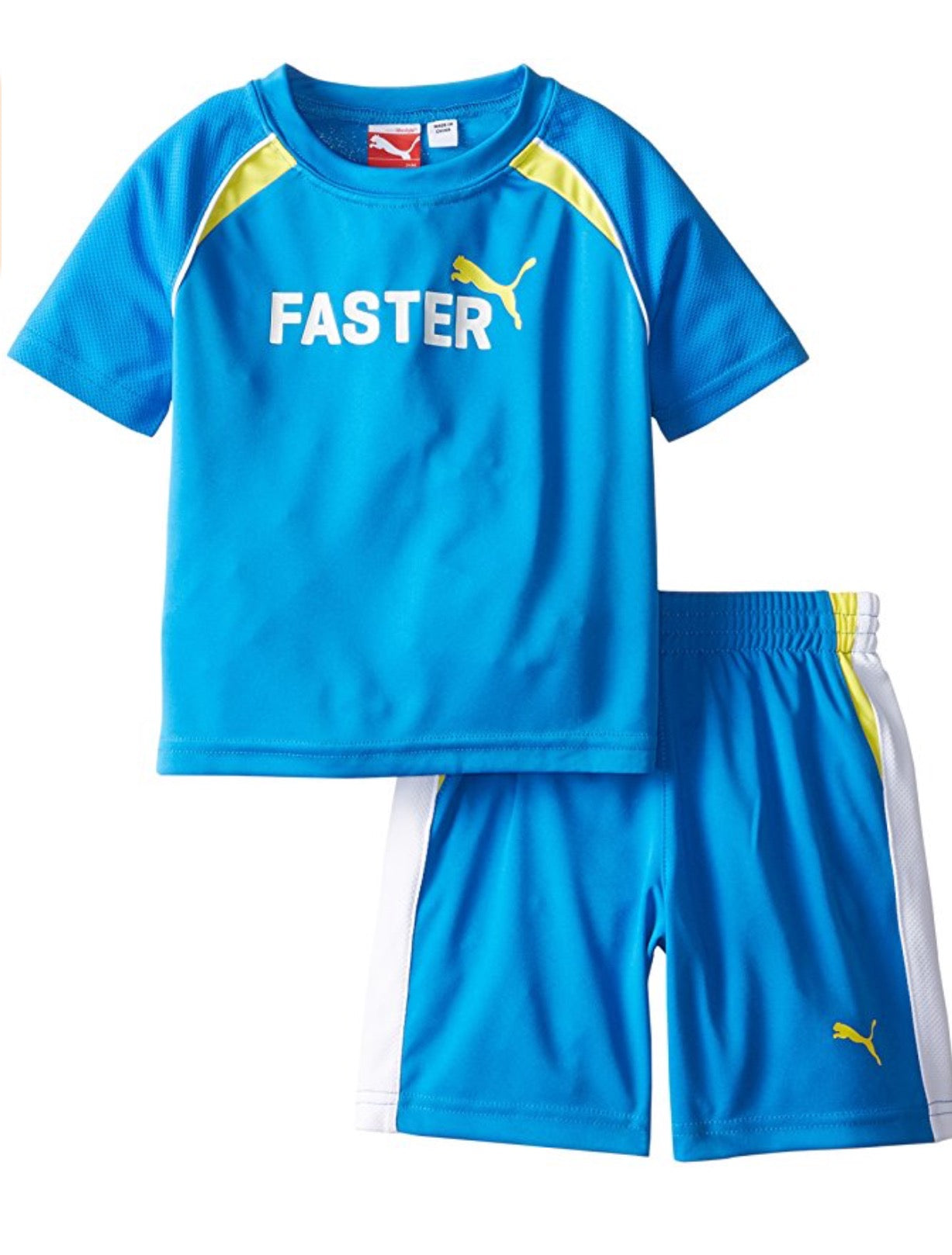 Roll over image to zoom in PUMA Puma Baby Boy s Short Set Faster