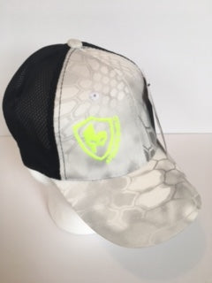 White Kryptec Hat