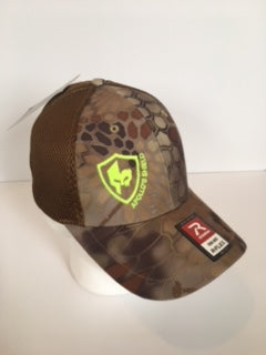 Flex Fit Brown Kryptec Hat