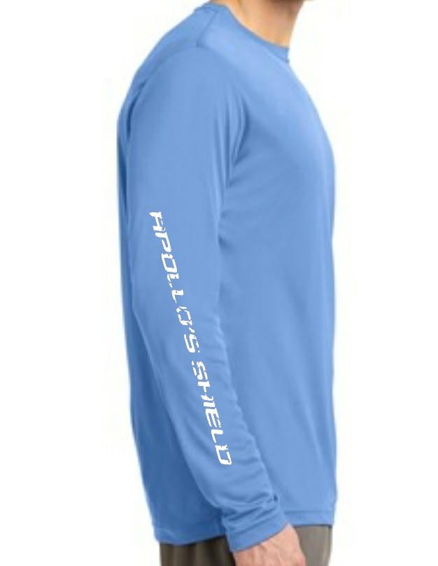 Long Sleeve Performance Shirt - Columbia Blue