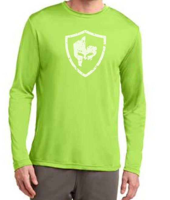 Long Sleeve Performance Shirt - Lime Shock