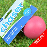 SOLID RUBBER BALL DOG TOY - Durable, Fetch, Chase, Play Chew Hard Balls - 6cm