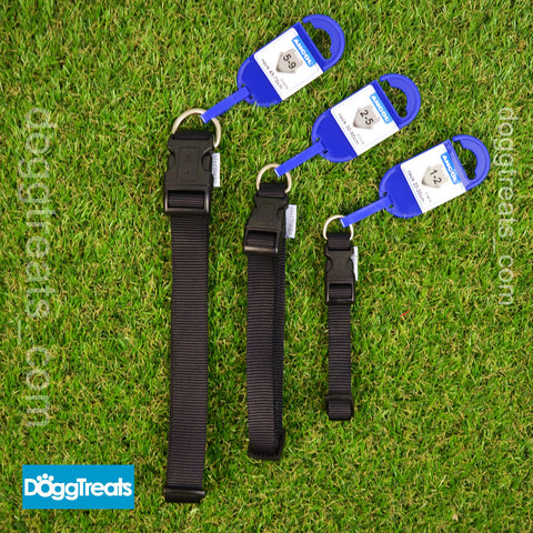 Ancol Heritage Adjustable Dog Collar Blue Black Red Pink - Small Medium Large