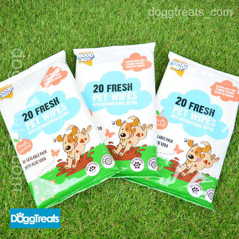 Scented Pet Wet Wipes - Good Boy