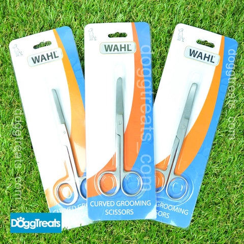 Wahl Curved Grooming Scissors for Dogs or Cats Trimming Grooming Metal