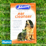 Johnsons Dog and Cat Ear Cleaner Dropper Antibacterial - Drops For Wax and Cleaning 18ml