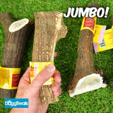 JUMBO ANTLER DOG CHEWS Antos Stag - Large XL - 100% Natural Chew - Calcium