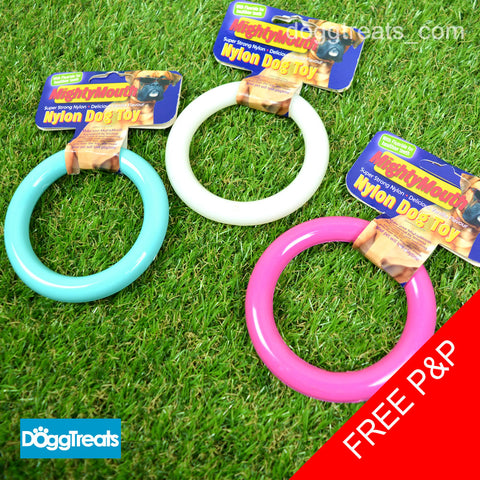 MightyMouth Flavoured Nylon Dog Ring Chew - 10cm
