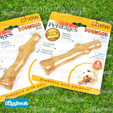 Wood Dog Chew Stick - Safe Chew Toy - Durable Petstages Dogwood - Antler & Root Alternative