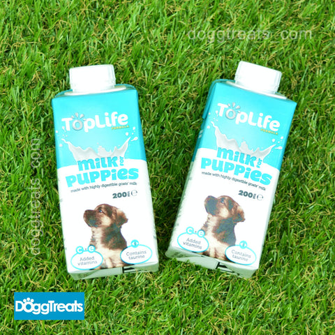 Puppy Milk Toplife Formula - Goats Milk - Added Vitamin C, E with Cream - 200ml