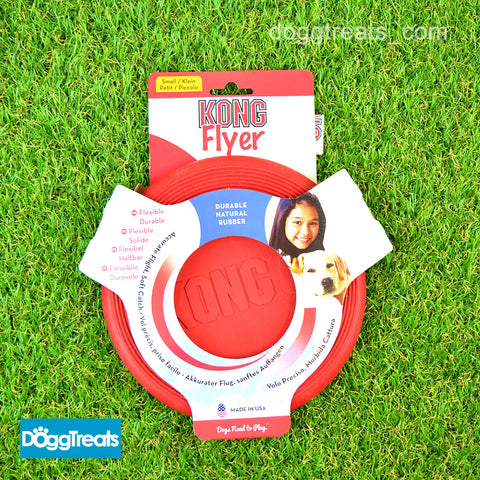 KONG Flyer Dog Frisbee - Small, Large, Extreme, Puppy