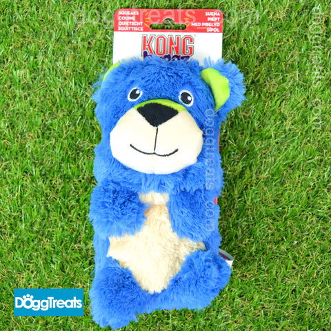 KONG Huggz Large Blue Bear Fox