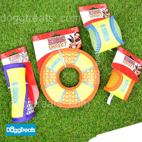 KONG Impact Dog Toy - Ball / Ring / Twist