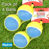 KONG Squeakair ULTRA Tennis Ball Dog Toy - Squeaker - Medium or Large