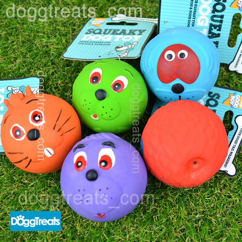 Dog Face Balls Toy - Good Boy