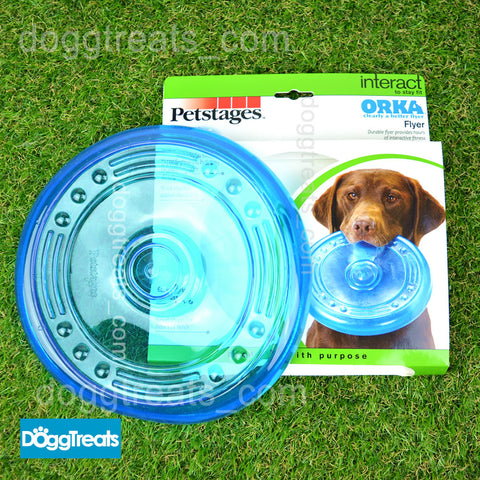 Dog Flyer Frisbee Petstages Orka Soft Rubber Tough and Durable Toy